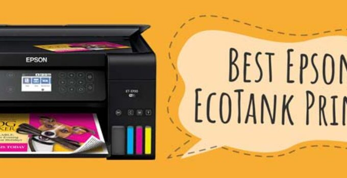 Best Epson EcoTank Printer