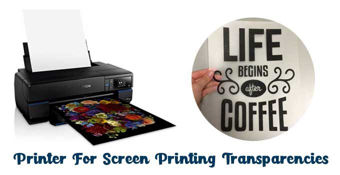 best printer for screen printing