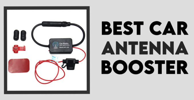 best car antena booster