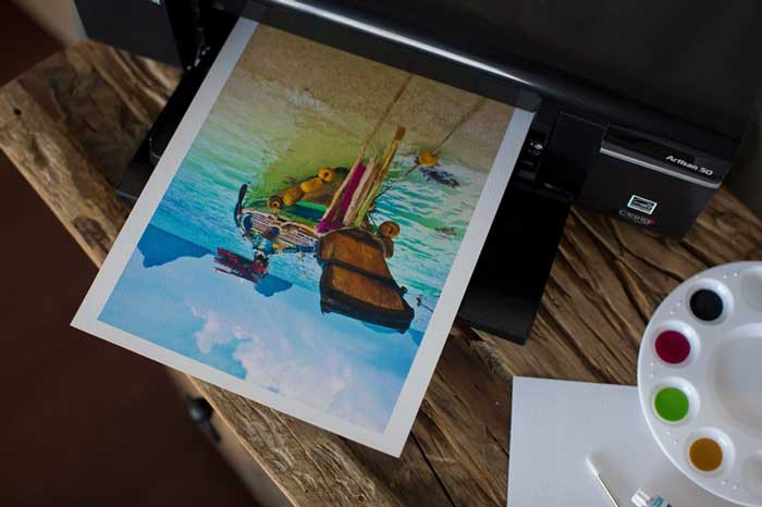 Printer For Watercolor Paper