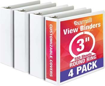Samsill Economy 3 Ring Binder Organizer